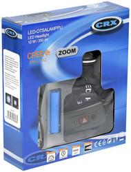 CRX LED otsalamppu 350 lumen, ladattava