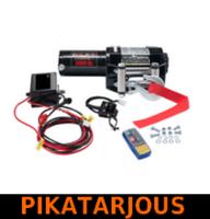 Sähkövinssi 12V 1360kg, kauko-ohjain + langaton kauko-ohjain - PIKATARJOUS!