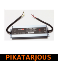 LED muuntaja 100W, 12V, IP67, Ultra-thin, Sanpu - PIKATARJOUS!