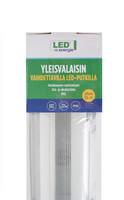 LED Energie Yleisvalaisin 2x18W led-putkilla, 1266 x 112 x 63mm, IP65