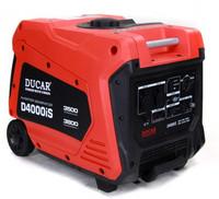 Aggregaatti-invertteri Ducar D4000IS, 3800W, 230V, bensiini - PIKATARJOUS!