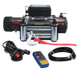Sähkövinssi 12V 5440kg, kauko-ohjain + langaton kauko-ohjain - PIKATARJOUS!