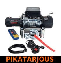 Sähkövinssi 12V 9072kg, kauko-ohjain + langaton kauko-ohjain - PIKATARJOUS!