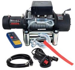 Sähkövinssi 24V 9072kg, kauko-ohjain + langaton kauko-ohjain - PIKATARJOUS!