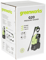 Painepesuri Greenworks G20 110bar 1400W / 230V