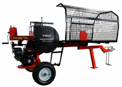 Ennakkomyynti! Pikahalkomakone Timco 28tn, 61cm, polttomoottori (halkaisuaika 2 sekuntia)