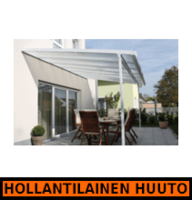 VillaPatio Classic 610 alu katos 6mm, 610x300cm - HOLLANTILAINEN HUUTOKAUPPA!