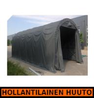 Pressutalli Prohall 9m x 4,5m, korkeus 3,5m, 500g/m2 - HOLLANTILAINEN HUUTOKAUPPA!