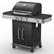 Loppu! Kaasugrilli Royal Gourmet Black Flame 3L, 3 poltinta + sivukeitin