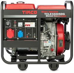 Ennakkomyynti! Timco TCLE5500SDG, 5kVA, 230V/400V diesel generaattori