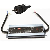 LED muuntaja pistotulpalla 60W, 12V, IP67, myös ulkokäyttöön