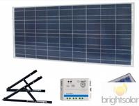 Brightsolar 90W aurinkopaneelisetti mökille