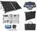 Brightsolar 80W kannettava ja taitettava aurinkopaneeli, sis. säätimen