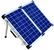 Brightsolar 100W kannettava ja taitettava aurinkopaneeli, sis. säätimen