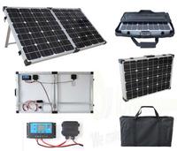 Brightsolar 120W kannettava ja taitettava aurinkopaneeli, sis. säätimen