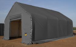 Kalustohalli Ranch premium 6,1m x 9,76m x korkeus 4,88m, 900g/m2