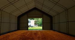 Ennakkomyynti! Kalustohalli Ranch premium 9,1m x 12,2m x korkeus 6,1m, 900g/m2