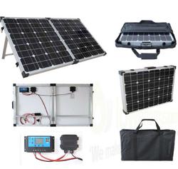 Brightsolar 40W kannettava ja taitettava aurinkopaneeli, sis. säätimen - HOLLANTILAINEN HUUTOKAUPPA!