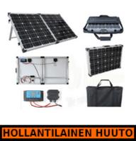 Brightsolar 80W kannettava ja taitettava aurinkopaneeli, sis. säätimen - HOLLANTILAINEN HUUTOKAUPPA!