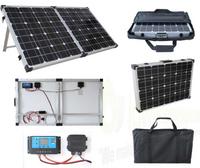 Brightsolar 80W kannettava ja taitettava aurinkopaneeli, sis. säätimen - PIKATARJOUS!