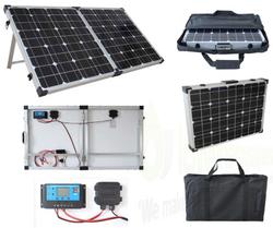 Brightsolar 160W kannettava ja taitettava aurinkopaneeli, sis. säätimen - PIKATARJOUS!