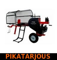 Pikahalkomakone Timco 28tn, 61cm, polttomoottori (halkaisuaika 2 sekuntia) - PIKATARJOUS!