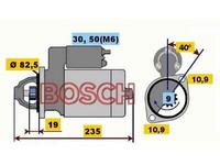 Starttimoottori Bosch 0001109019