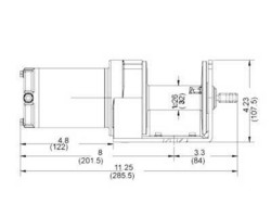 Sähkövinssi IronX 12V 907kg ohjaimella