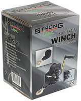 StrongLine Vinssi 727kg, 7,5m liina, automaattijarru