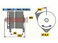 Laturi Bosch 0120469032