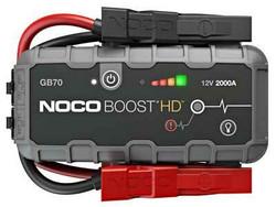 Apukäynnistin Noco BOOST HD GB70, 12V, 2000A