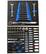 Timco 8 ltk 266-osainen työkaluvaunu autotyökaluilla