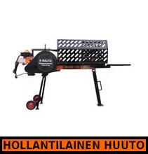 X-Rauta pikahalkomakone 7tn, 51cm (halkaisuaika 2 sekuntia) - HOLLANTILAINEN HUUTOKAUPPA!