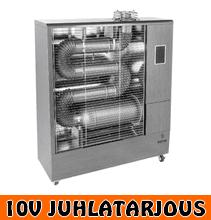 Hottia DIR-1700 polttoainekäyttöinen infrapunalämmitin - 10V JUHLATARJOUS!