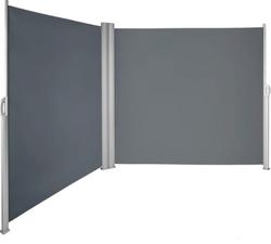 Green Land sivumarkiisi 280G 160x600cm, tummanharmaa
