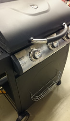 Ennakkomyynti! Kaasugrilli Black Flame Classic 3, 3 poltinta