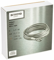 StrongLine Vinssin vaijeri 3500LB 4,8mm X 15,2m