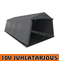 Pressutalli Prohall 6m x 3,2m, 500g/m2 - 10V JUHLATARJOUS!