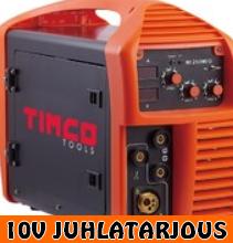 Timco Mi250MIG, MIG hitsauskone - 10V JUHLATARJOUS!