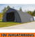 Pressuhalli Ranch 9,2m x 12m, korkeus 4,85m, 900g/m² - 10V JUHLATARJOUS!