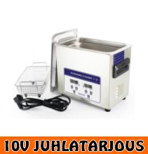 Ultraäänipesuri 3,2L Timco INOX (myös teollisuuskäyttöön) - 10V JUHLATARJOUS!