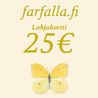 Lahjakortti 25 €