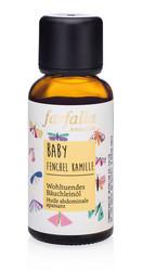 Rauhoittava öljy vauvan vatsalle FENKOLI-KAMOMILLA