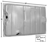 Polttoainetankki Charger 1968-70