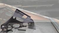 C-Pilarin sisempi pelti Vasen 1968-70 Charger