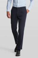 Van Gils mix n' match tummansiniset suorat housut