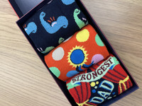 Happy Socks VAHVIN ISÄ Gift Box