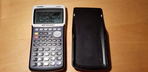 Grafiikkalaskin (Casio fx-9860G )