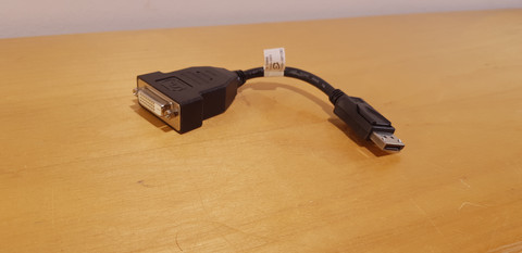 DisplayPort adapteri (DVI)