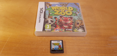 Word of Zoo -peli (DS)